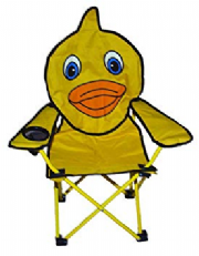 Childrens Duck Camping Animal Chair